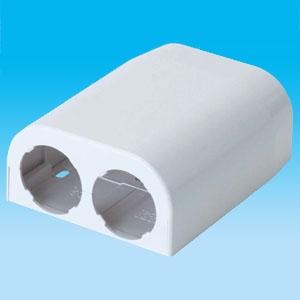因幡電工 【数量限定特価】ソケットカバー 対応ダクトTJD-20 使用可能さや管呼び径28 《リフォームダクトJD ツインタイプ》 TJSC-20