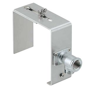 カクダイ 水栓取付金具 塀用 壁厚10〜150mm対応 座付L形ソケット付 625-701