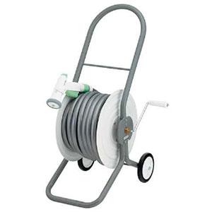 ホースドラム 散水・屋外冷却用 ホース付 554-603