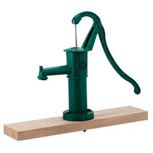 ガーデンポンプ 雨水利用・農作業・非常用 呼び32 台付 グリーン 734-043-32