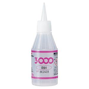 【ケース販売特価 20個セット】瞬間接着剤 《3000RXH》 超速硬化・難接着タイプ 粘度1000mPa・s 容量50g AC-069_set