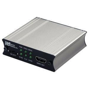 ラトックシステム 【生産完了品】変換アダプタ VGA→HDMI AC給電モデル オーディオ対応 倍速液晶パネル対応 REX-VGA2HDMI-AC