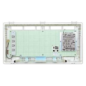 Abaniact 情報盤 ディープタイプ(深型) 4K・8K対応 収納タイプ HUBなし マルチブースタ付 AD-808M-00