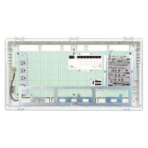 Abaniact 情報盤 ラージタイプ 4K・8K対応 収納タイプ 1ギガHUB8ポート搭載 マルチブースタ付 AL-888M-00