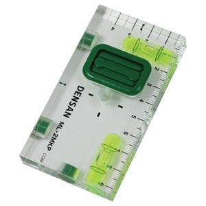 ジェフコム スイッチボックスケガキレベル 《壁ピタくん》 石膏ボード専用 垂直・水平 仮止め針付 ML-2MKP