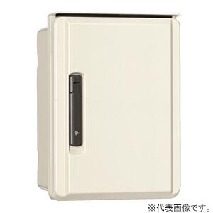 日東工業 高性能プラボックス FRP樹脂製 片扉 木製基板付 横600×縦800×深250mm FBA25-68