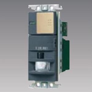 パナソニック 【受注生産品】熱線センサ付自動スイッチ 《かってにスイッチ》 壁取付 2線式・3路配線対応形 LED専用1.2A パイロット・ほたるスイッチC ライトブロンズ WTK18116F2K