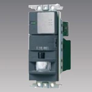 パナソニック 【受注生産品】熱線センサ付自動スイッチ 《かってにスイッチ》 壁取付 2線式・3路配線対応形 LED専用1.2A パイロット・ほたるスイッチC シルバーグレー WTK18116S2K