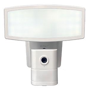 キャロットシステムズ カメラ付LEDセンサーライト 昼白色 調光タイプ 録画機能付 CSL-1000