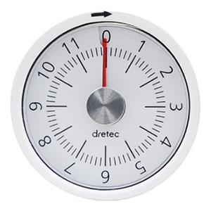 ドリテック 12分計ダイヤルタイマー ゼンマイ式 電池不要 T-319WT
