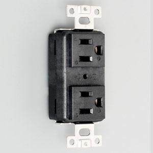 アメリカン電機 複式ハイパー埋込コンセント 接地形2P 15A 125V 圧着端子式 NEMA(5-15)規格 7110GHDXL