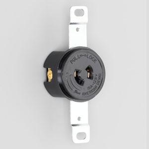 アメリカン電機 埋込コンセント 引掛形 2P 15A 125V 圧着端子式 40