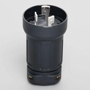 アメリカン電機 さし込みプラグ 引掛形 3P 60A 250V 圧着端子式 プラカバータイプ 保護カバー付 3622E