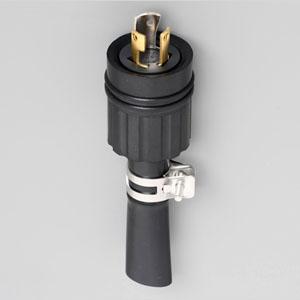 アメリカン電機 防水形プラグ 引掛形 接地形2P 15A 125V 圧着端子式 ゴムカバータイプ R102