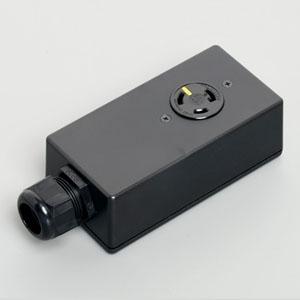 アメリカン電機 シングルタップ™ 引掛形 接地形2P 30A 125V 圧着端子式 NEMA(L5-30)規格 3313E-L5