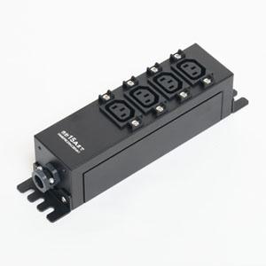 アメリカン電機 コンセントバー IEC C-13・4ヶ口 接地形2P 15A 250V 圧着端子式 HKC0903