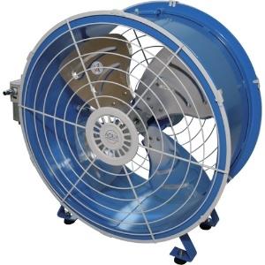 アクアシステム 送風機 軸流型 エアモーター式 風量無段階調節 アルミ羽根60cm AFR-24