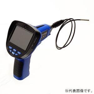 サンコー 液晶付内視鏡ファインスコープ 先端カメラ径φ3.9mm ケーブル長1m LC391FTU