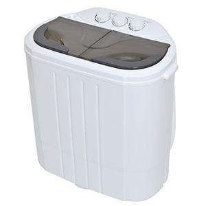 サンコー 【生産完了品】小型二層式洗濯機 《別洗いしま専科2》 洗濯容量3.6kg 乾燥容量2.0kg RCWASHR4