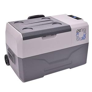 サンコー 【生産完了品】ひえひえ冷蔵冷凍庫 バッテリー内蔵 最大-20℃ 大容量30L CLBOX30L