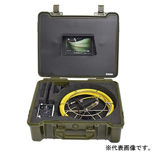 サンコー 極細配管用スコープ カメラ先端径φ12mm ケーブル長20m SLIMHISC2