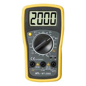 マザーツール デジタルマルチメータ 2000カウントベーシックモデル MT-2060
