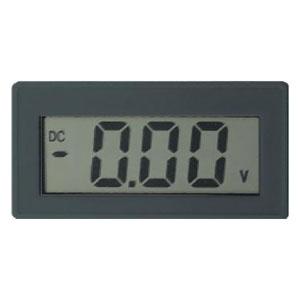 マザーツール 電圧計 直流電圧計デジタルパネルメータモジュール DIN規格72×36mm 2000カウントDPM MT-P72V