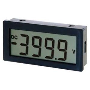 マザーツール 電圧計 直流電圧計デジタルパネルメータモジュール DIN規格96×48mm 4000カウントDPM MT-P96V