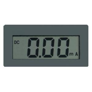 マザーツール 電流計 直流電流計デジタルパネルメータモジュール DIN規格72×36mm 2000カウントDPM MT-P72C