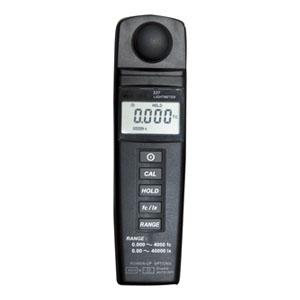 マザーツール デジタル照度計 測定範囲0.01〜40000Lux ゼロ調整機能付 MT-337