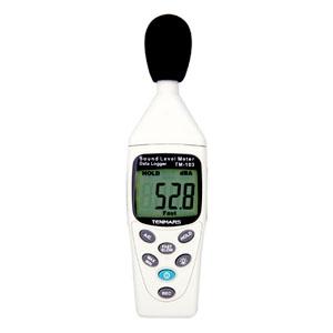 マザーツール デジタル騒音計 データロガ機能付 測定範囲30〜130dB TM-103