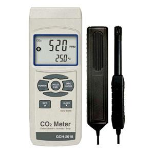 マザーツール CO2濃度計 プローブ搭載型センサ CO2・温度・湿度測定 RS-232Cインターフェース機能搭載 GCH-2018