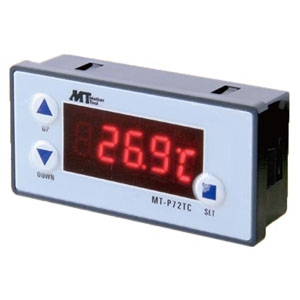マザーツール パネルマウント型温度コントローラ 測定範囲-50〜100℃ リレー接点出力付 MT-P72TC
