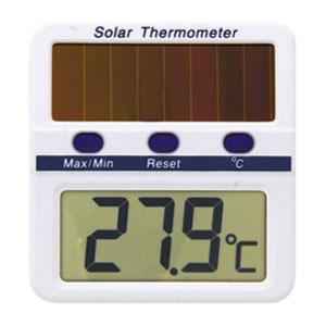 マザーツール ソーラーデジタル温度計 測定範囲0〜50℃ MT-889