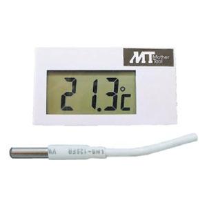 マザーツール 温度モジュール 温度モニター用 サーミスタ式 測定範囲-19.5〜99.9℃ ケース付 MT001C/C