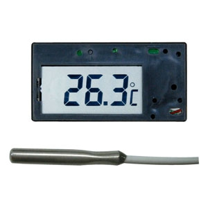 マザーツール 低・高温用温度モジュール 温度モニター用 サーミスタ式 測定範囲-50〜190℃ ケースなし MT002C