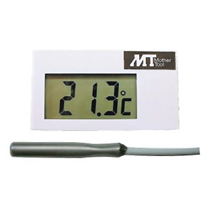 マザーツール 低・高温用温度モジュール 温度モニター用 サーミスタ式 測定範囲-50〜190℃ ケース付 MT002C/C