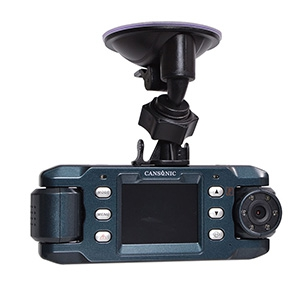 サンコー ドライブレコーダー 《GPS2》 前後赤外線LED付デュアルレンズ GPS機能付 X9DVRDL