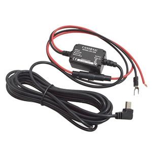 サンコー ドライブレコーダー用電源直接コネクター 12V・24V両対応 ケーブル長4m X9DVRDOP1