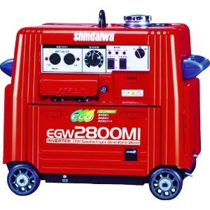 新ダイワ エンジン溶接機兼発電機 直流専用タイプ 超低騒音型 タンク容量10L EGW2800MI