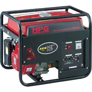 ワキタ オープン型発電機 交流専用タイプ 50Hz 100V-2.0kVA タンク容量16L HPG2500-50