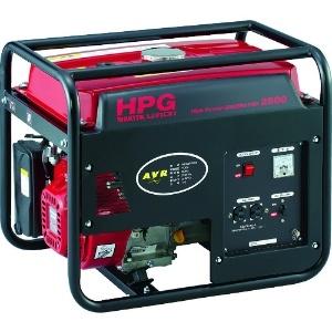 ワキタ オープン型発電機 交流専用タイプ 60Hz 100V-2.3kVA タンク容量16L HPG2500-60
