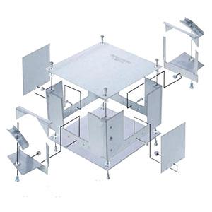 ネグロス電工 ジャンクションボックス 《ネグレッツ®ウェイ》 取付自在タイプ LWP1用 LWBTJ1