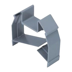 ネグロス電工 ケーブルサポート 《ネグレッツ®ウェイ》 ABS樹脂 LWKB1