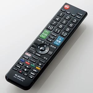 ELECOM 【生産完了品】かんたんTV用リモコン パナソニック社製ビエラ用 ERC-TV01BK-PA