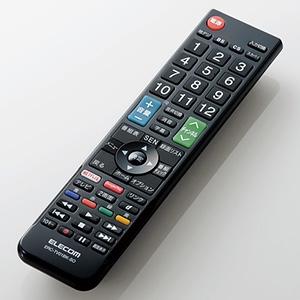 ELECOM 【生産完了品】かんたんTV用リモコン ソニー社製ブラビア用 ERC-TV01BK-SO