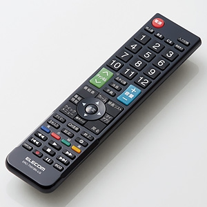 ELECOM 【生産完了品】かんたんTV用リモコン LG社製テレビ用 ERC-TV01BK-LG