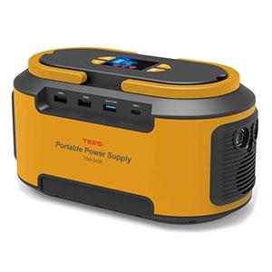 ティーズネットワーク 家庭用ポータブル蓄電池 電池容量222Wh 最大300W TSB-S420