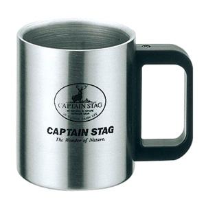 パール金属 【生産完了品】フリーダム ダブルステンマグカップ300mL 《CAPTAIN STAG》 M-7328