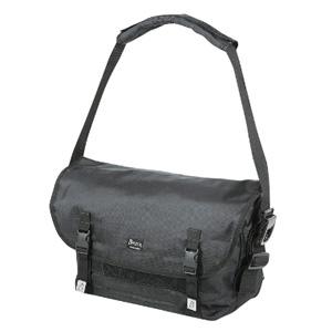 パール金属 【生産完了品】メッセンジャーバッグ ブラック A4サイズ対応 《CAPTAIN STAG》 M-8964